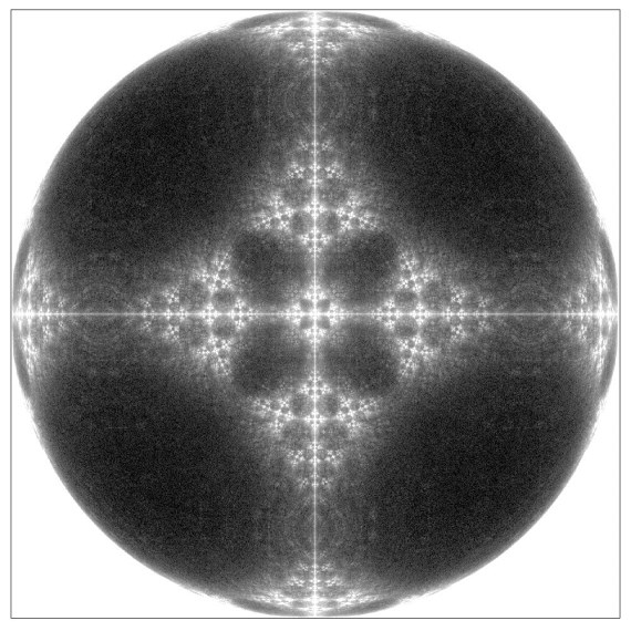 Variable phase quantum fractal